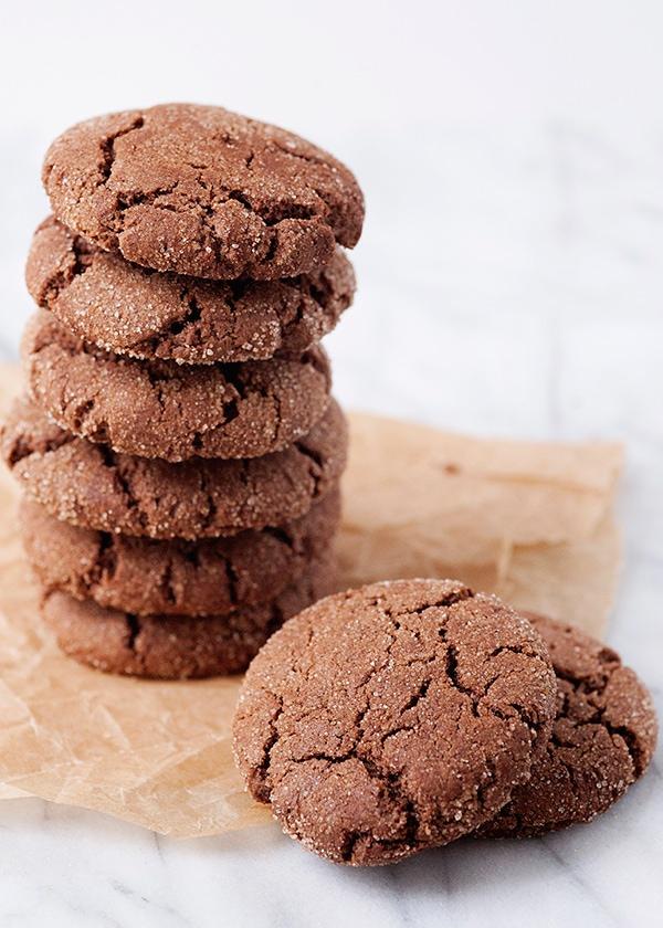chocolate snickerdoodle cookie recipe