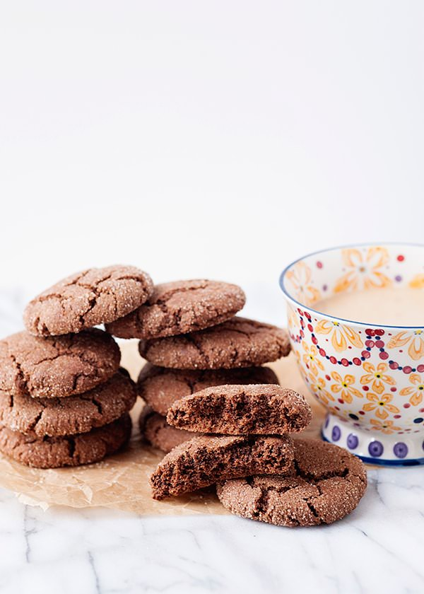 Recipe: Chocolate snickerdoodles