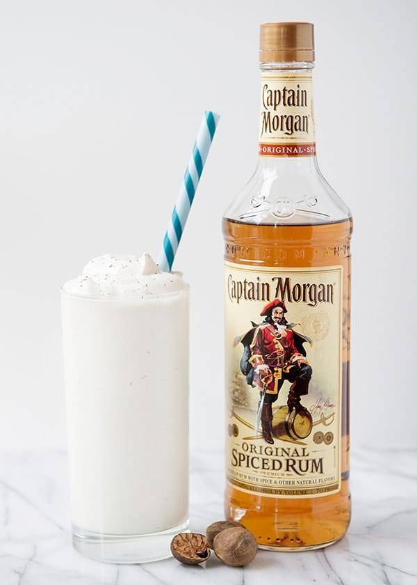 Coconut Rum Milkshakes
