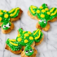 Sea Turtle Orange Rolls