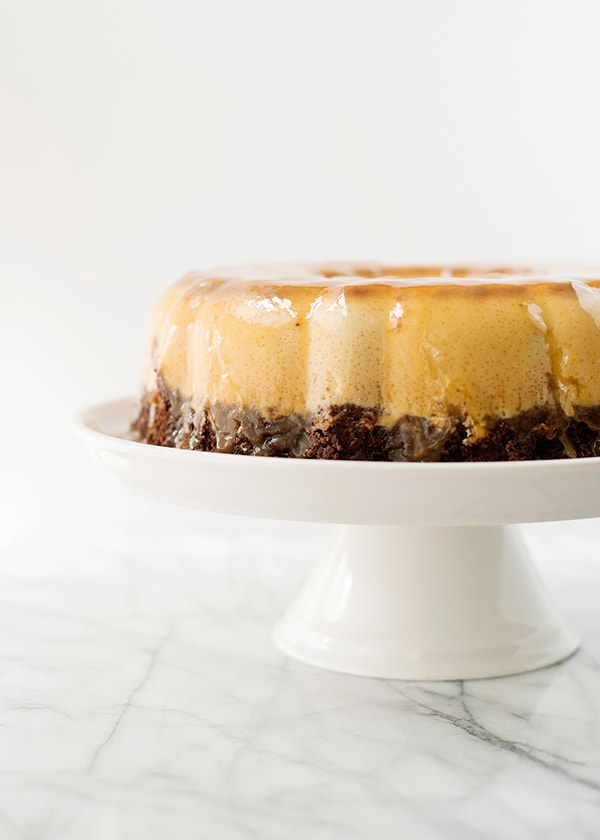 Chocolate Flan Cake Baked Bree