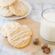 eggnog cookie recipe with eggnog glaze recipe