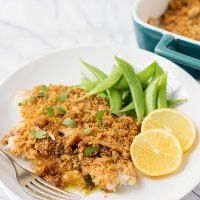 parmesan and wasa crusted tilapia recipe