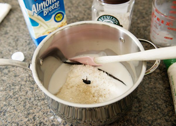 blue diamon almond milk rice pudding recipe