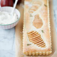 pear almond tart recipe