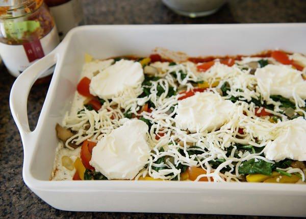 vegetarian lasagna recipes