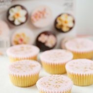 ginger and rosewater cupcakes
