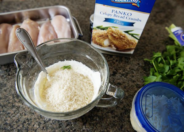panko parmesan chicken recipe