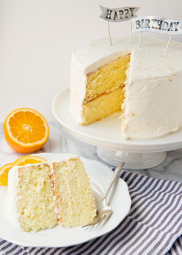 Creamsicle Cake Baked Bree