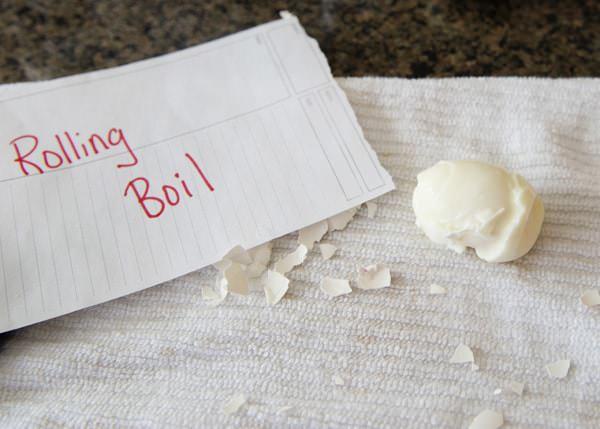 hard boiled eggs 3 ways