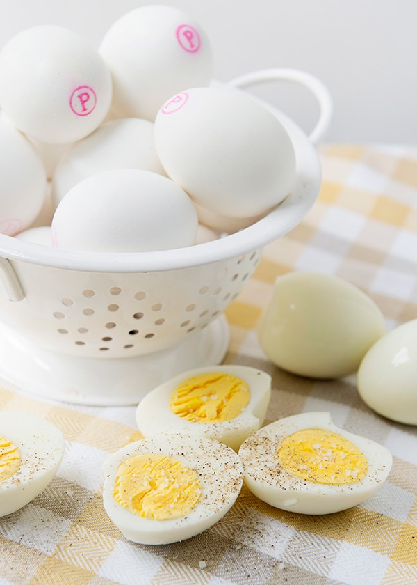 Recipe: Hard boiled eggs three ways