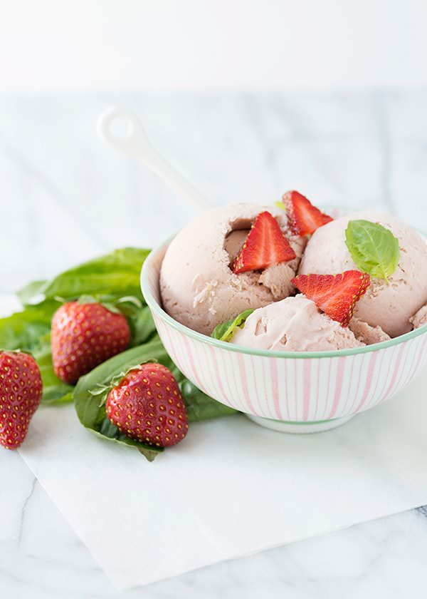 strawberry basil ice cream recipe
