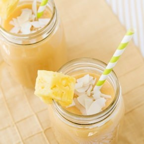 tropical morning smoothie recipe