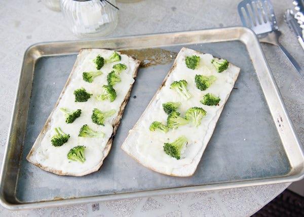 white broccoli pizza recipe