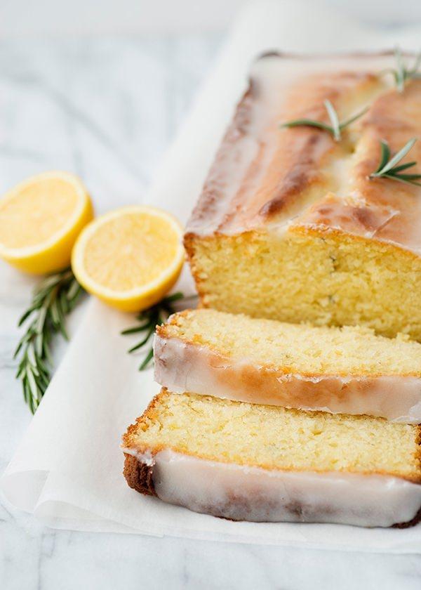 Lemon Lavender Cake Yoghurt