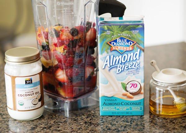 citrus mint berry smoothie recipe