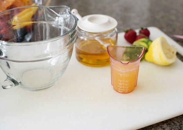 citrus mint fruit salad recipe