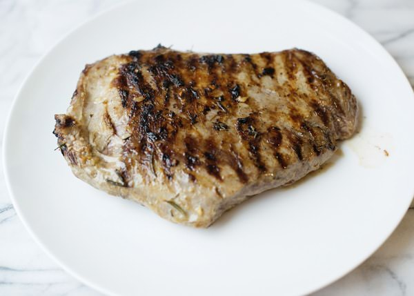 flank steak with garlic butter sauce recipe