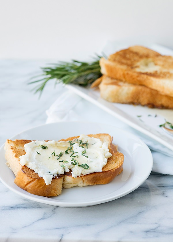 Ricotta with Honey and Herbs - Baked Bree
