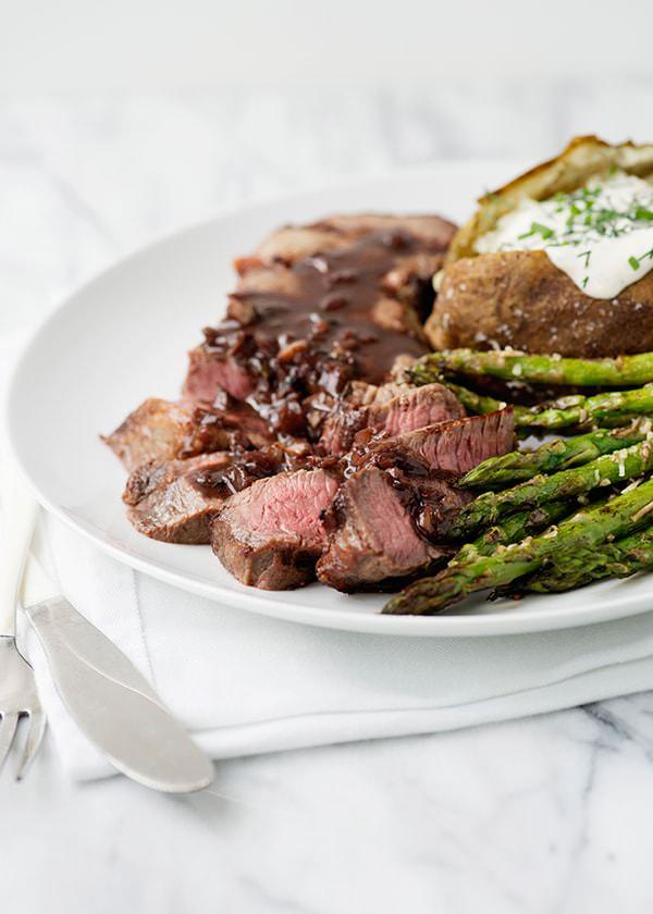 red wine steak recipe