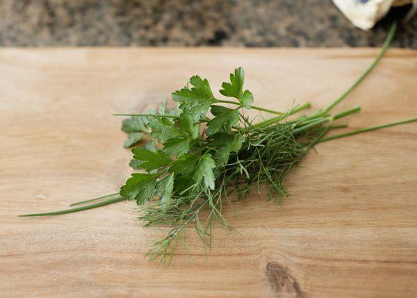 herb sour cream recipe