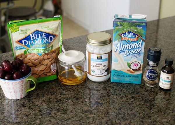 cherry almond smoothies recipe