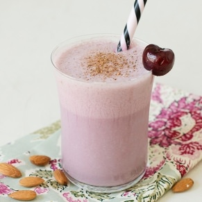 cherry almond smoothie recipe