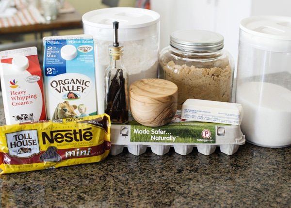 chocolate chip cookie dough ice cream recipe