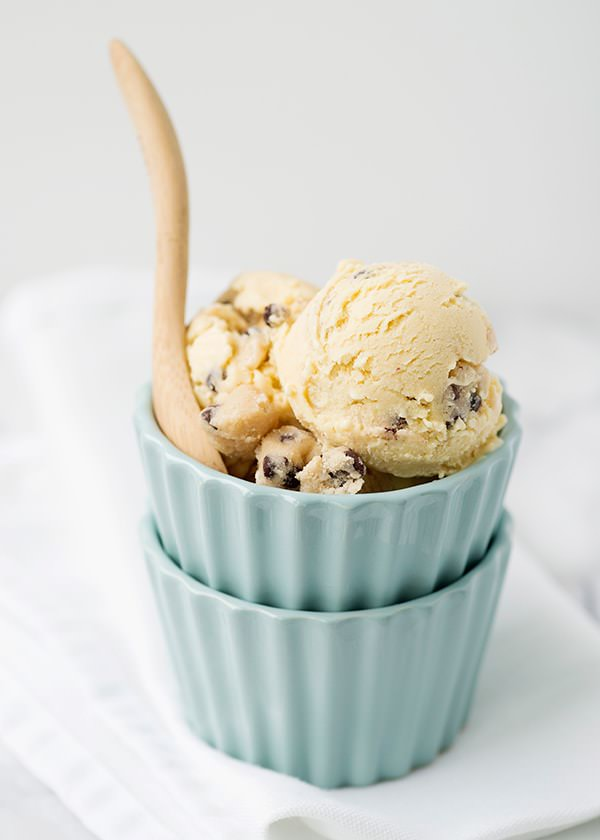 Chocolate Chip Cookie Dough Ice Cream Recipe — Dishmaps