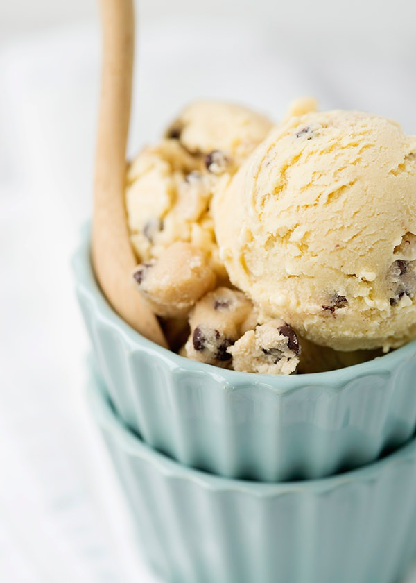 Chocolate Chip Cookie Dough Ice Cream - Baked Bree