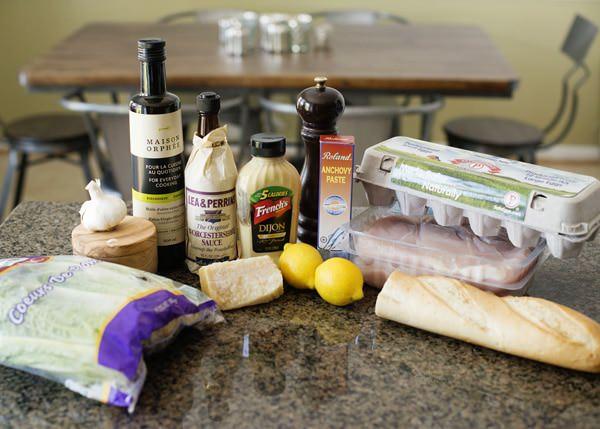 grilled chicken caesar salad recipe
