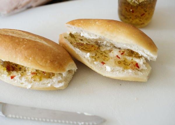 turkey and pepper jelly sadnwich recipe