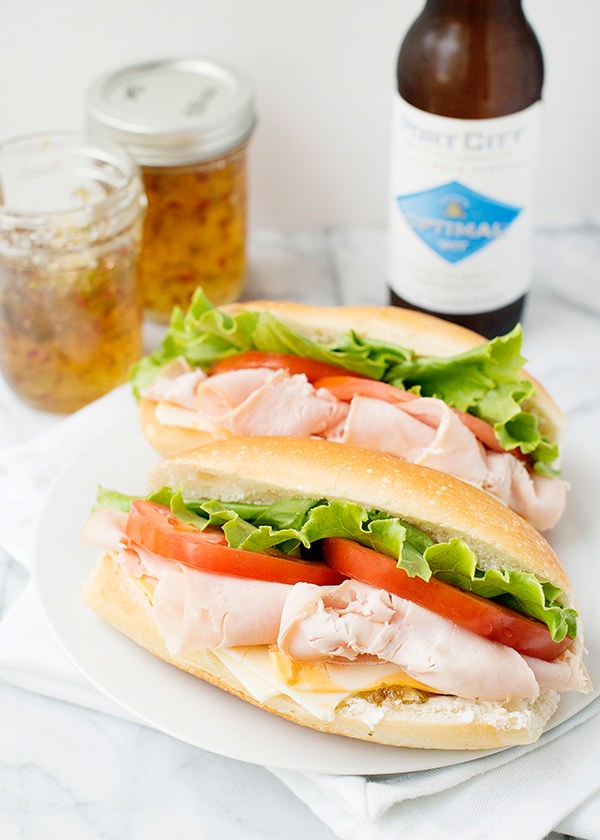 turkey and pepper jelly sandwich recipe