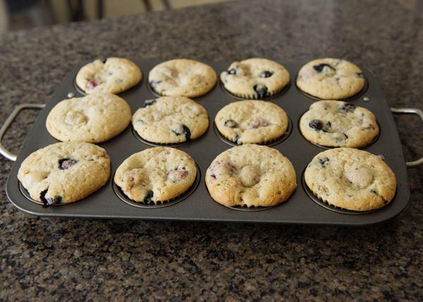 vegan vanilla berry muffin recipe