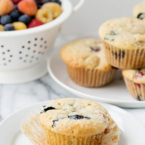 vegan vanilla berry muffin recipe