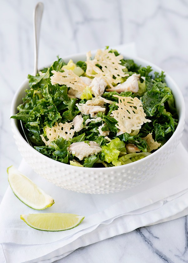 Crispy Kale Salad With Lime Dressing Recipes — Dishmaps