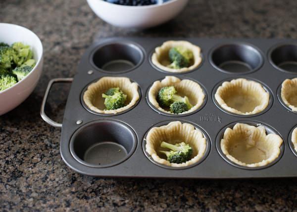 mini broccoli quiche recipe