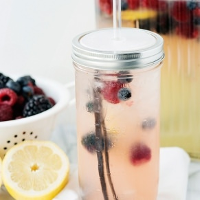 vanilla berry lemonade