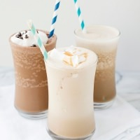 almond breeze iced coffee shakes