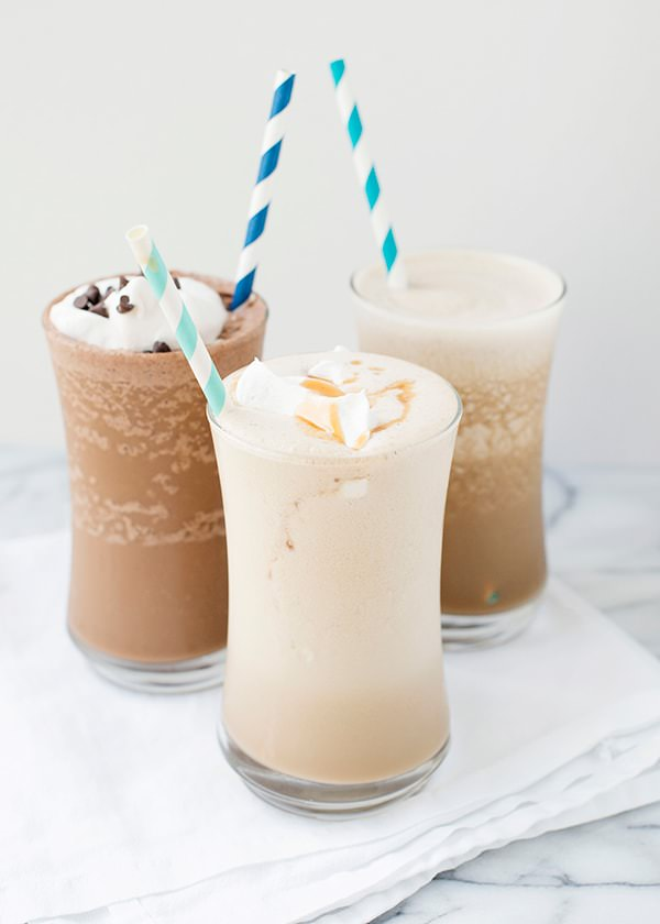 Almond Milk Iced Coffee Shakes