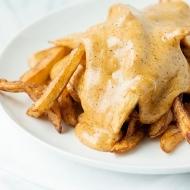 homemade cheese fries