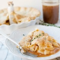 apple pie with cheddar thyme crust recipe