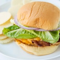 Chicken Bacon Cheddar Sandwiches