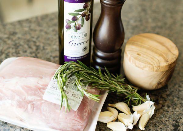 Garlic and Rosemary Pork Loin Recipe