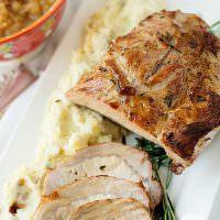 Garlic and Rosemary Pork Loin