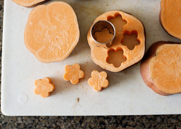 sweet potato cut outs
