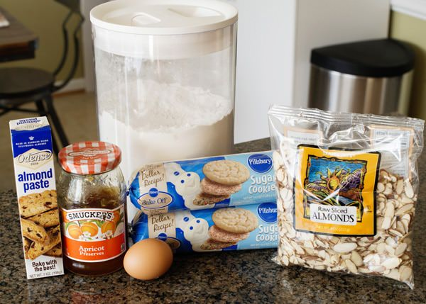 almond cafe cookies recipe