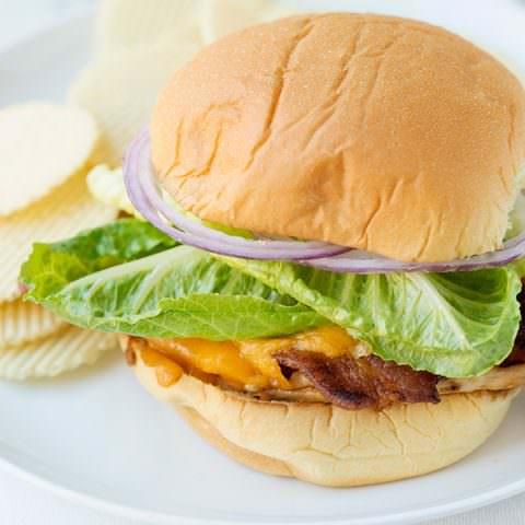 Chicken Bacon Cheddar Sandwiches