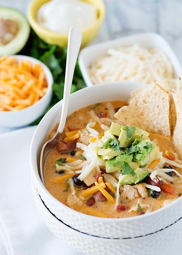 creamy tortilla soup recipe