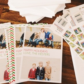 pinhole press holiday cards